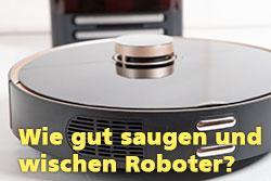 Saugroboter-Test