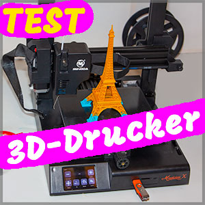 3D-Drucker-Test-Vergleich