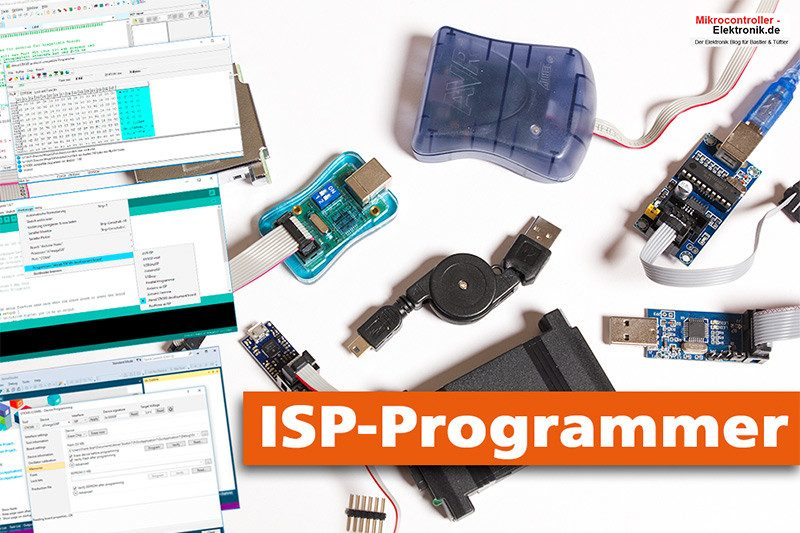 Isp Programmer Für Arduinobascom Und Atmel Studio In Windows