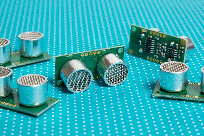 Entfernungsmessung Mit Ultraschall : Intelligenter ultraschall sensor für entfernungsmessung